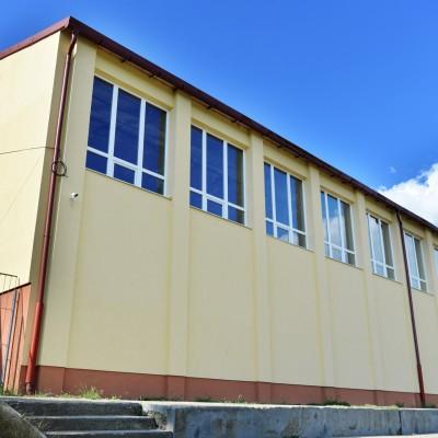 Kiskörei Általános iskola tornateremének energetikai korszerűsítése